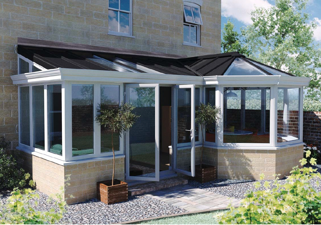 Livin Roof Solid Tiled Conservatory Roof
